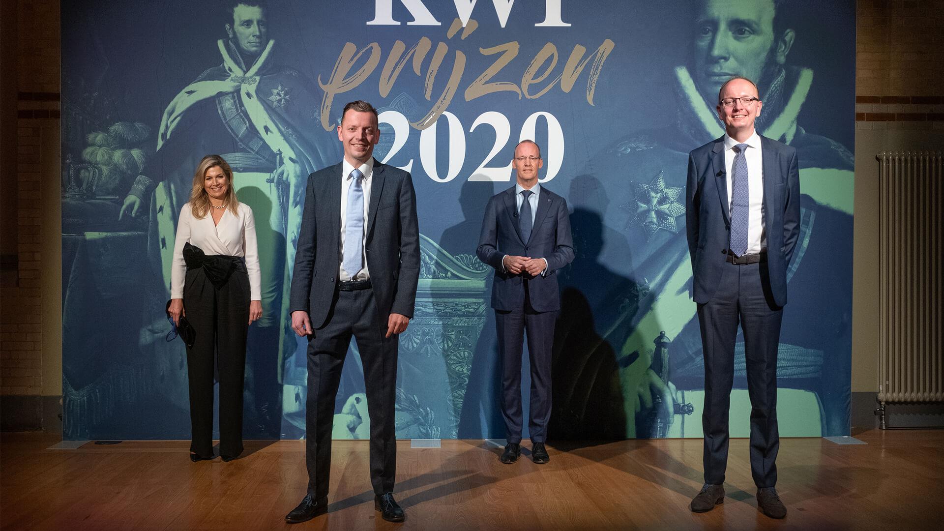 Von Gahlen proud to win Koning Willem I Award