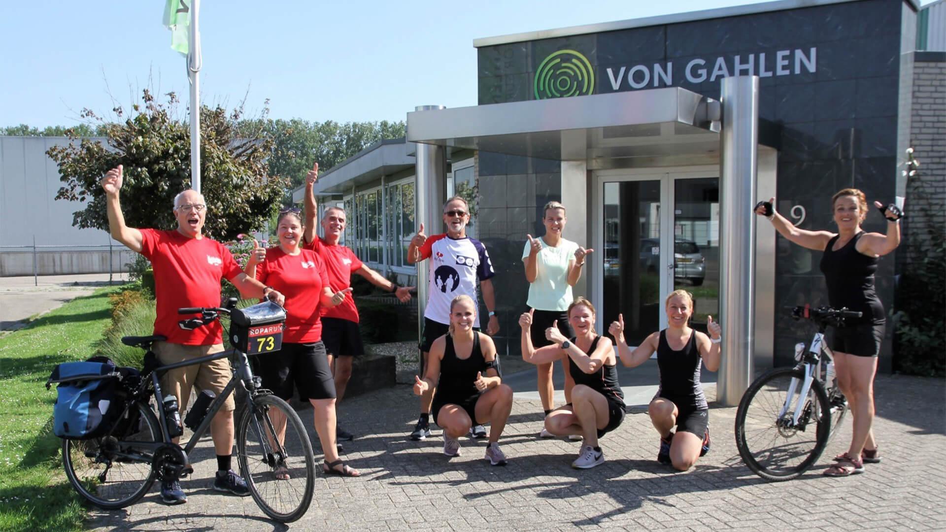 Wij sponsoren team Liemers for Life tijdens de Roparun